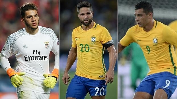 Tite convocou seleção brasileira com Diego, goleiro do Benfica e Diego Souza