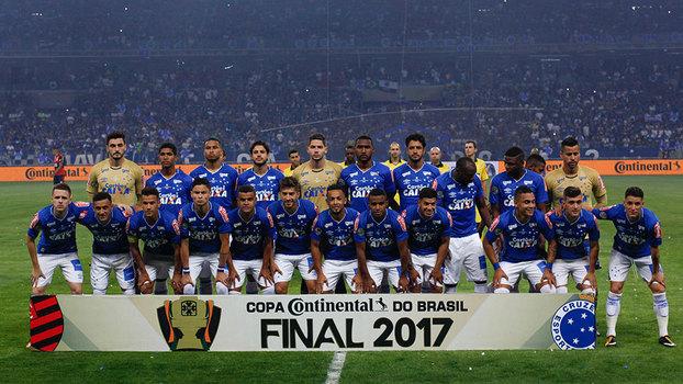 Time do Cruzeiro pentacampeão da Copa do Brasil