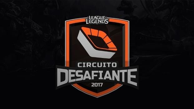 Circuito Desafiante começa em 5/6 valendo vaga direta no CBLoL 2018