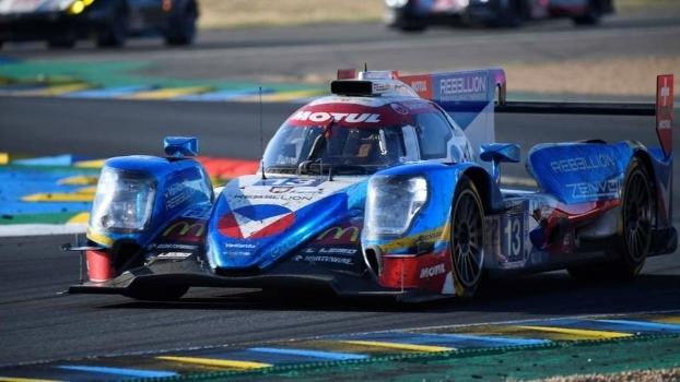 Nelsinho Piquet teve um bom desempenho na disputa