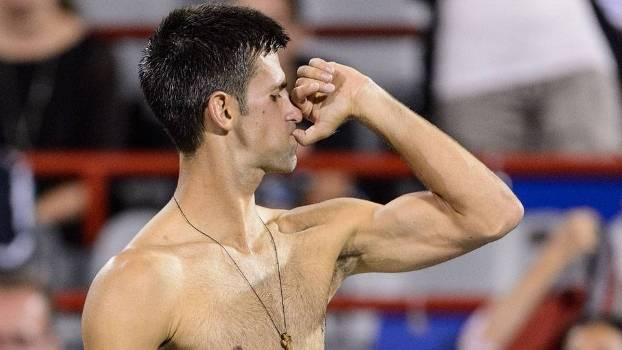 Djokovic venceu Gulbis de virada