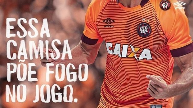 Atlético-PR lançará novo uniforme no duelo diante do Flamengo ... 97433fdd19463