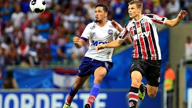 Bahia e Santa Cruz fizeram uma das semifinais da Copa do Nordeste em 2016 113d6d2d32bf4