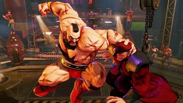 O sucessor de SF II, Street Fighter V, é um dos principais nomes entre os eSports.