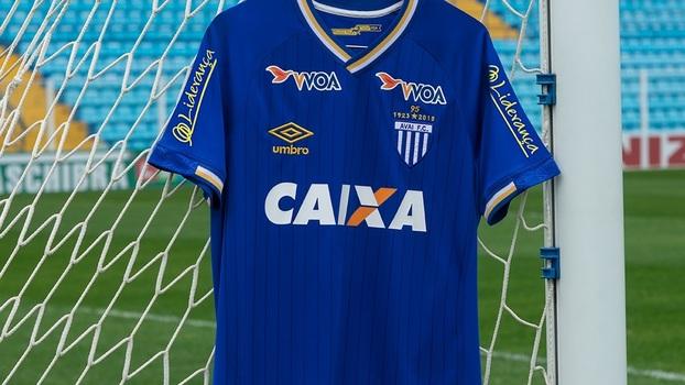 74e600bb07538 Nova camisa 3 do Avaí homenageia 95 anos de história do clube ...