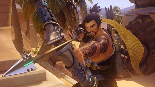 Hanzo não é um herói muito amado para composições de Overwatch
