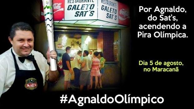 Agnaldo, o garçom que o Rio de Janeiro clama para acender a pira olímpica
