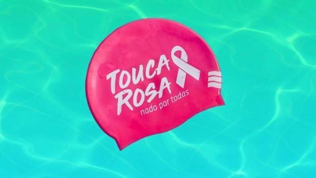 Etiene Medeiros promoveu a campanha'Touca Rosa'