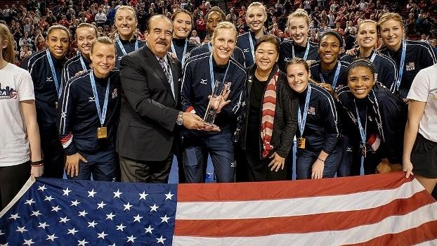Estados Unidos ficaram com o título do Pré-Olímpico da América do Norte