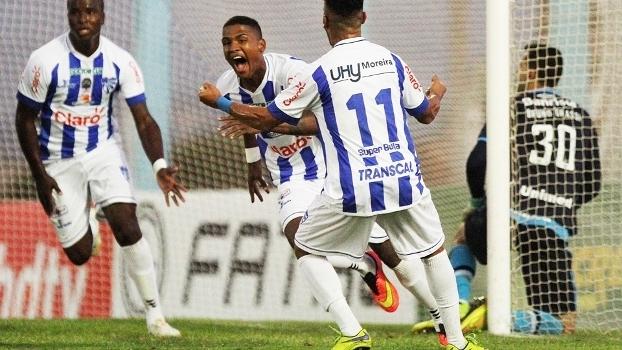 Caion Comemora Gol Cruzeiro-RS Gremio Campeonato Gaucho 12/03/2016