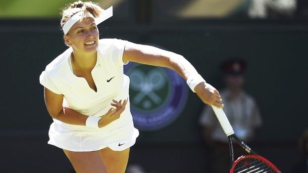 Petra Kvitova Rebate Wimbledon 30/06/2015