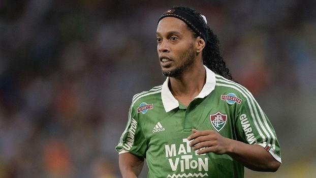 Ronaldinho não agradou na curta passagem pelo Fluminense b9a50005be7fa