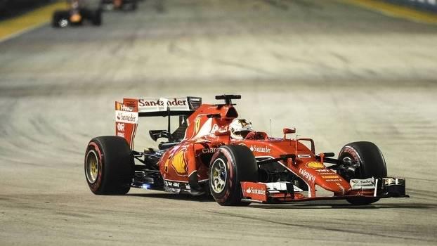 Vettel venceu em Cingapura