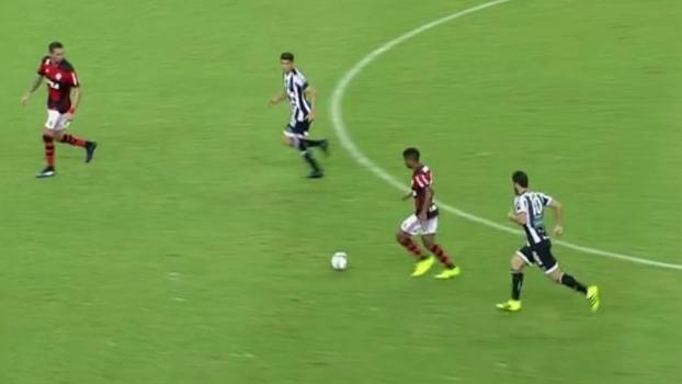 Flamengo duelou com Ceará