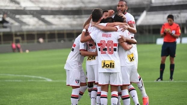 São Paulo disputará uma vaga na decisão da Libertadores sub-20