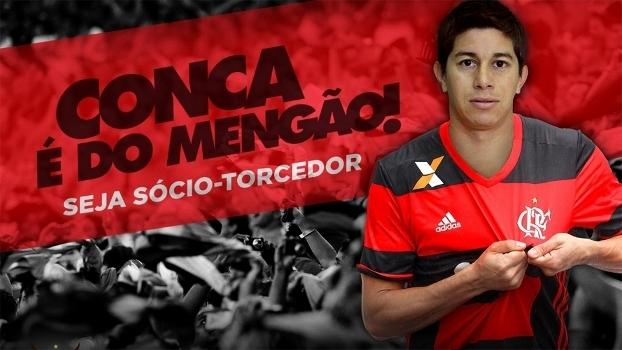 Flamengo confirma a contratação de Conca  remuneração quase simbólica 80f25dcabeb67