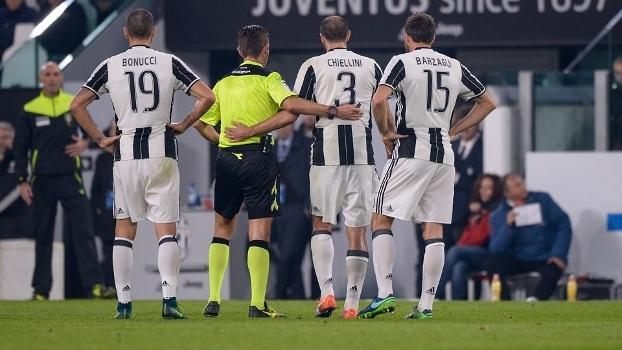 Trio da Juventus forma uma das zagas mais seguras da Europa 727d2d515138e