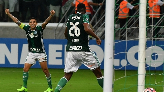 Dudu e Mina, do Palmeiras, foram convocados para defender seus respectivos países