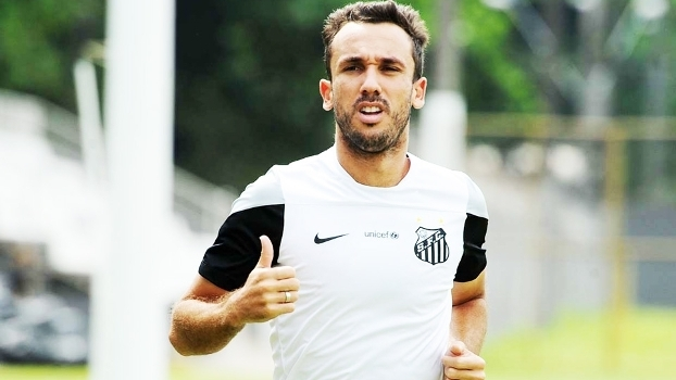 Thiago Ribeiro Treino Santos 24/02/2015