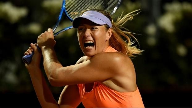 Maria Sharapova ficou sem convite para disputar Roland Garros