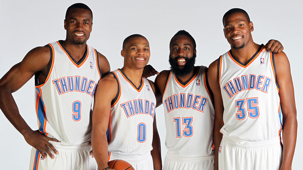 Quarteto original do Thunder