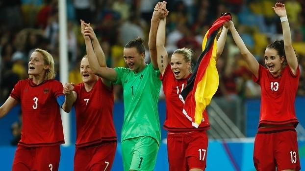 Alemanha faz festa após conquistar o ouro