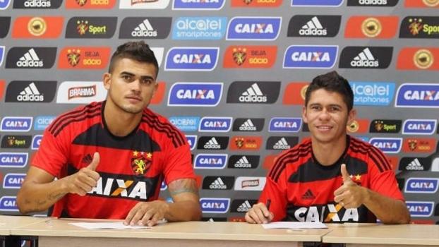 Igor Ribeiro e Osvaldo chegam ao Sport para a disputa do Brasileirão