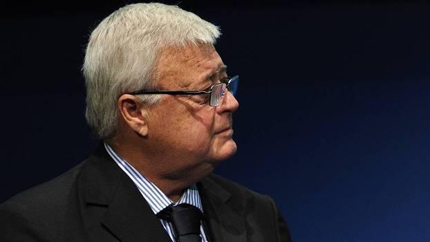 Ricardo Teixeira, ex-presidente da CBF, em evento na sede da Suíça em 2011