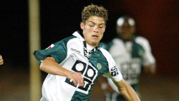 Cristiano Ronaldo tinha 17 anos quando fez o primeiro gol 3024b367c8c6e