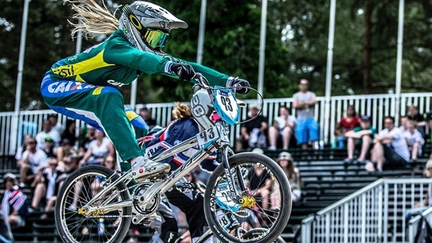 Priscila Carnaval faz parte da elite do ciclismo brasileiro