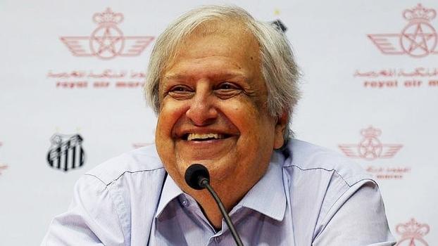 Modesto Roma Jr, presidente do Santos