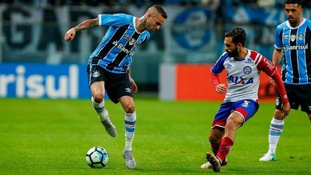 Bahia foi derrotado pelo Grêmio por 1 a 0, em Porto Alegre