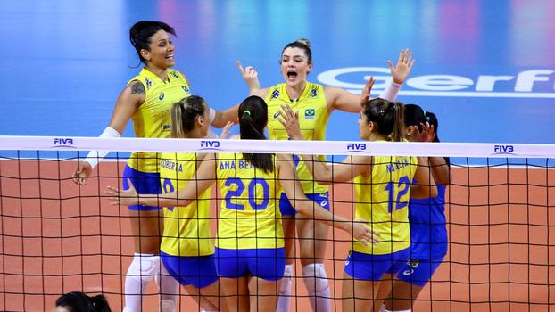 Seleção brasileira perde para a Tailândia por 3 a 0, no vôlei