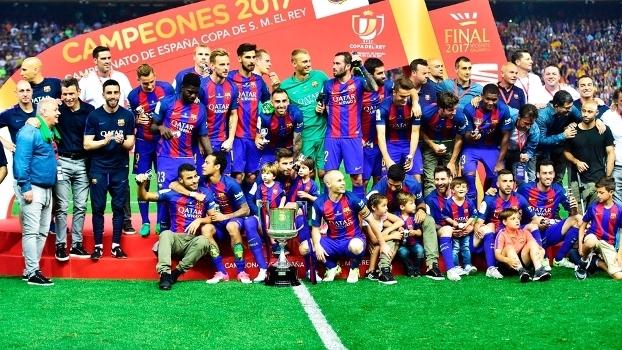 Barça é campeão da Copa do Rei no adeus de Luis Enrique