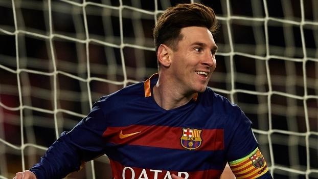 Messi ficou como único atacante no time de análise de desempenho