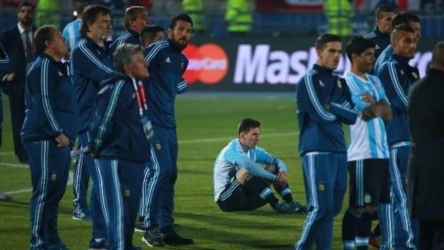 Avô de Messi critica a seleção argentina da Copa América