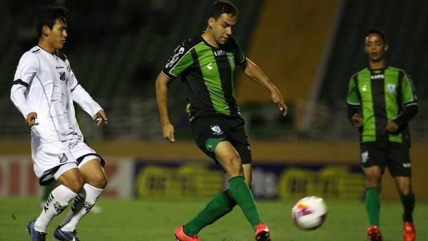 América-MG venceu o Bragantino por 1 a 0