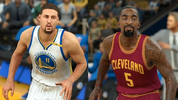 Ala-armadores: Klay Thompson e J.R. Smith