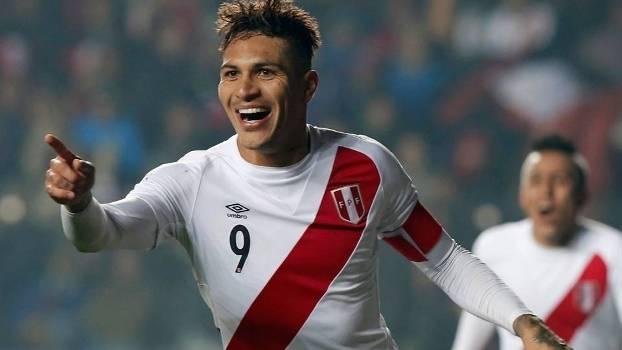 Paolo Guerrero irá defender o Peru