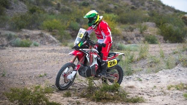 Jean Azevedo (Honda CRF 450 Rally)