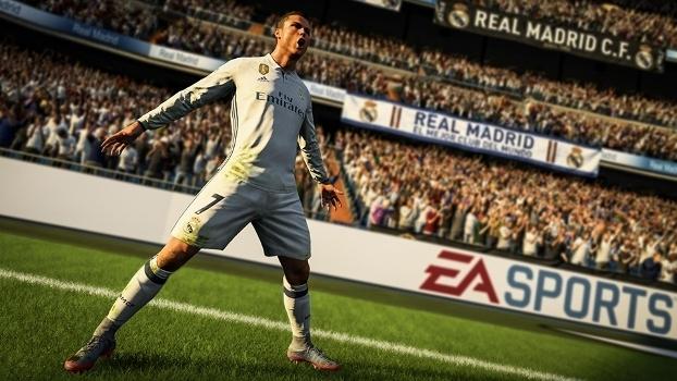 Cristiano Ronaldo e Fenômeno são os jogadores da capa de  FIFA 18 ... 6efc164536e17