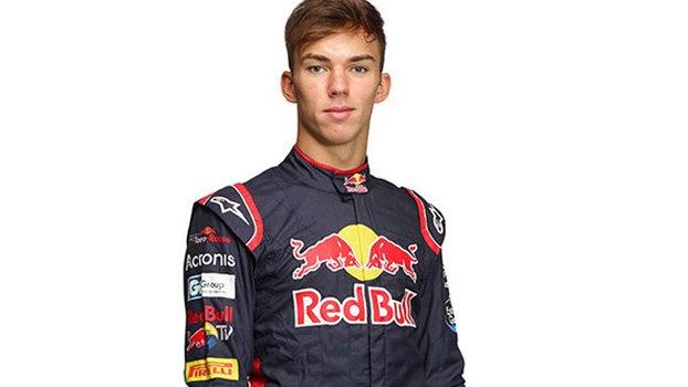 F1: Toro Rosso confirma Pierre Gasly para as próximas corridas