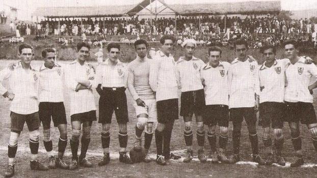 Jogadores do América campeões mineiros em 1924