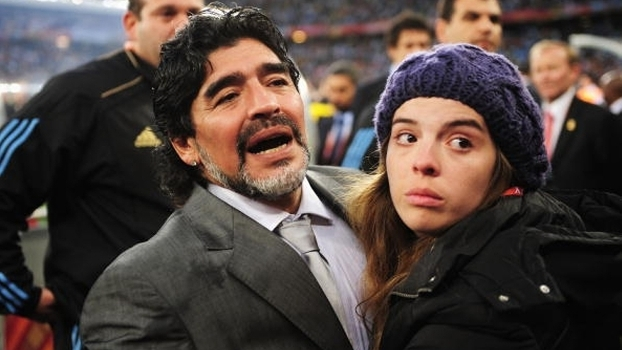 Dalma Maradona respondeu a declarações de Daniel Alves