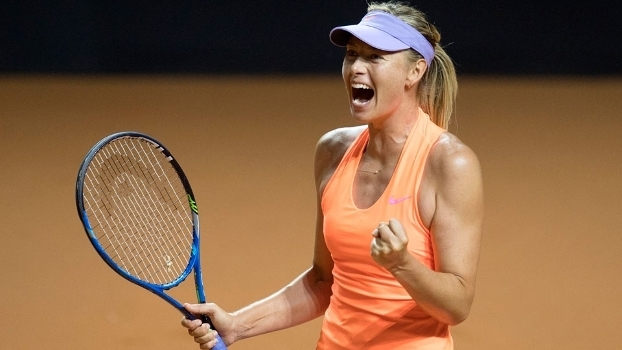 Maria Sharapova venceu sua segunda partida seguida após seu retorno