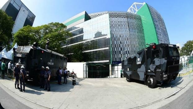 Palmeiras, Polícia, Allianz Parque