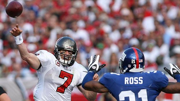 4586cb3e71 Jeff Garcia era o quarterback da última aparição dos Buccaneers nos playoffs