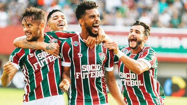 Renato Chaves Comemora Gol Fluminense Figueirense Campeonato Brasileiro 03/09/2016