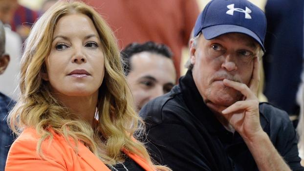 Jeanie Buss e Jim Buss, principais herdeiros dos Lakers não se entendem