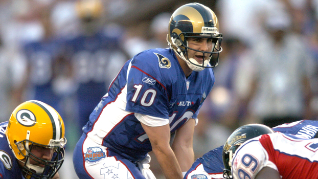 Marc Bulger em ação durante o Pro Bowl de 2004 e952d19dfcae8